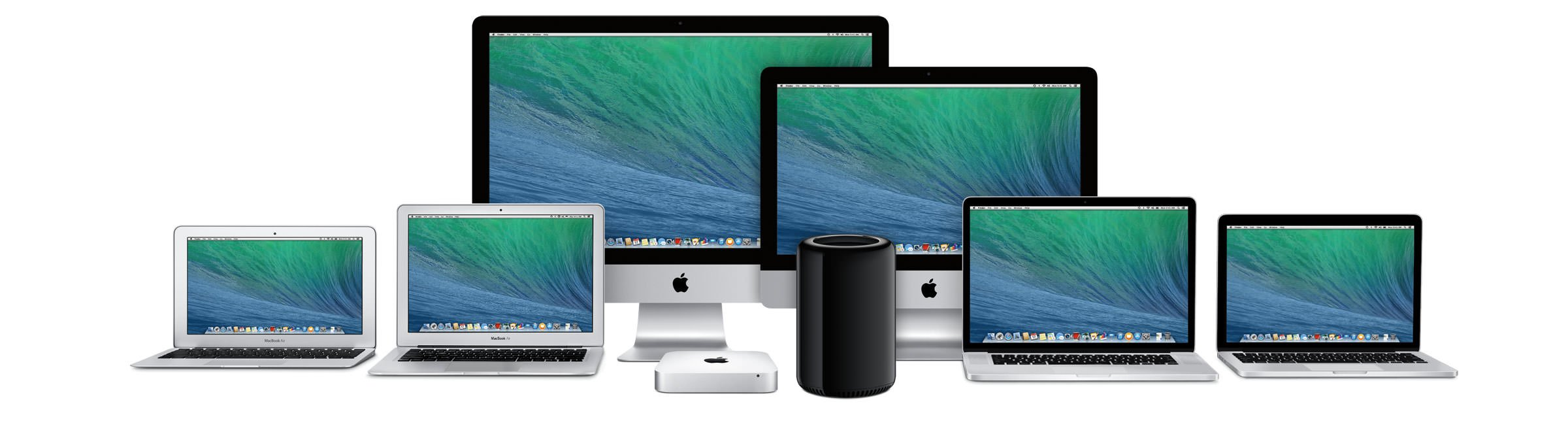 alle apple mac apparaten